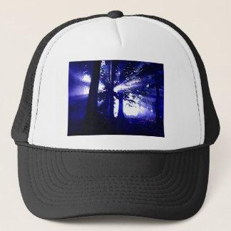 Boné Árvores azuis da noite