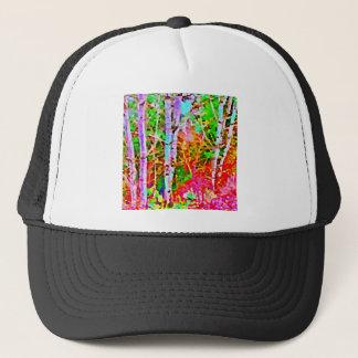 Boné Árvores de vidoeiro na primavera