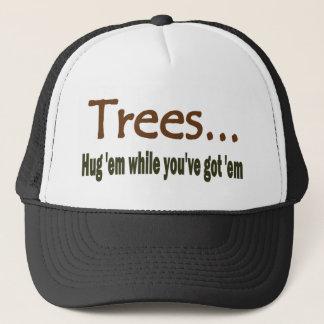 Boné Árvores do abraço
