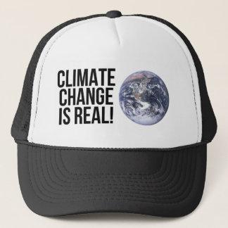 Boné As alterações climáticas são reais! Mundo da terra