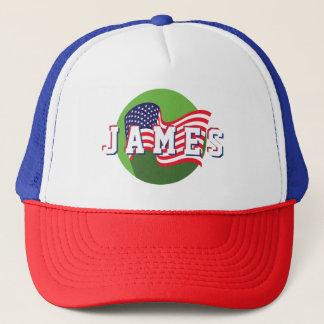 Boné As estrelas & Spangled a bandeira americana dos