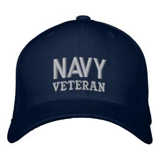 Boné As forças armadas do veterano do marinho controlam