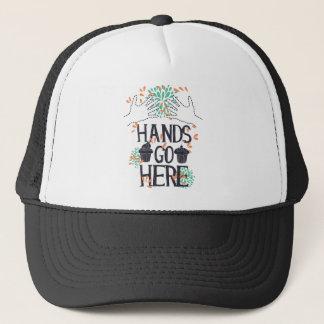 Boné as mãos vão aqui