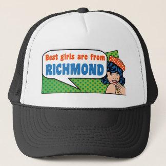 Boné As melhores meninas são de Richmond