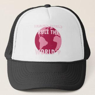 Boné As meninas do transporte ordenam o mundo (v2)