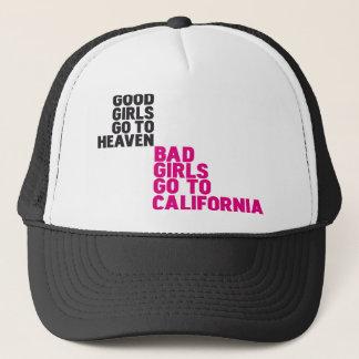Boné As meninas más vão a Califórnia