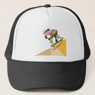 Boné As meninas patinam demasiado - chapéu