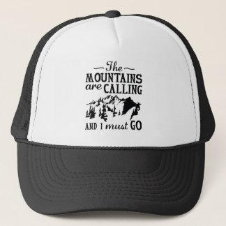 Boné As montanhas estão chamando