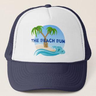 Boné As palmeiras do vagabundo da praia tropicais