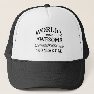 Boné As pessoas de 100 anos as mais impressionantes do