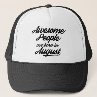Boné As pessoas impressionantes são nascidas em agosto