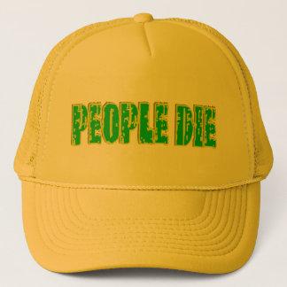 Boné AS PESSOAS MORREM chapéu