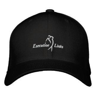 Boné As relações executivas pretas couberam o chapéu