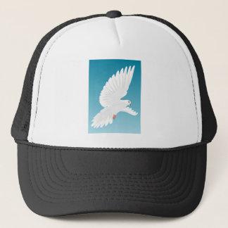 Boné Asa do animal da natureza da pena de pássaros do