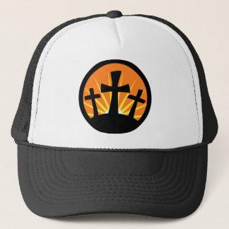 Boné Ascensão Sun - três cruzes