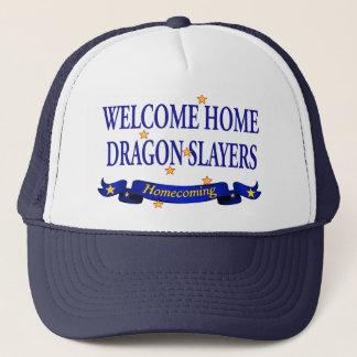 Boné Assassinos Home bem-vindos do dragão