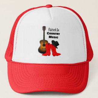 Boné Aumentado na vaqueira legal da música country
