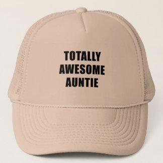 Boné Auntie totalmente impressionante