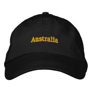 Boné Austrália personalizou o chapéu ajustável