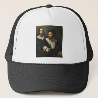Boné Auto-retrato com um amigo por Raphael