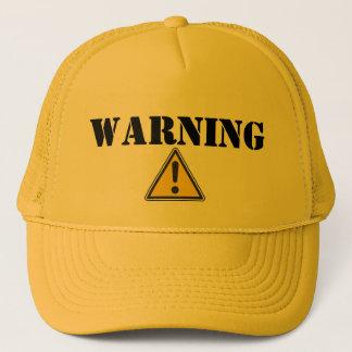 Boné AVISO - chapéu do camionista
