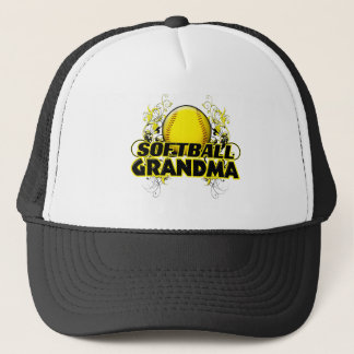 Boné Avó do softball (cruz) .png