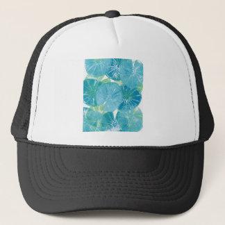 Boné Azuis da almofada de lírio