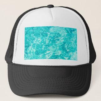 Boné Azul abstrato