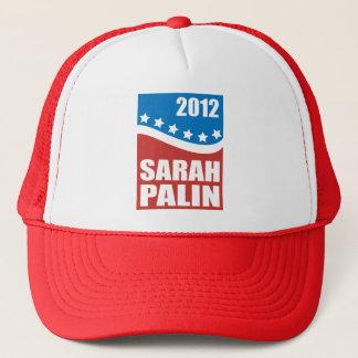 Boné Azul branco vermelho de Sarah Palin