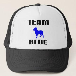 Boné Azul da equipe