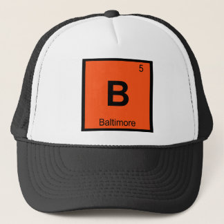 Boné B - Mesa periódica da química de Baltimore