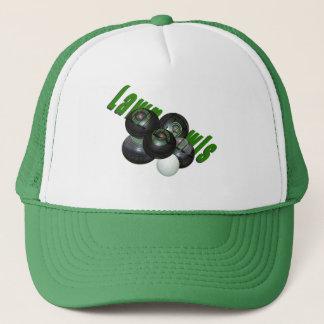 Boné Bacias e logotipo do gramado,