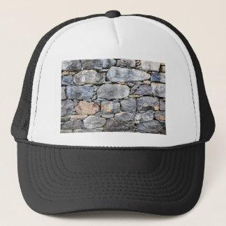 Boné Backgound de pedras naturais como a parede