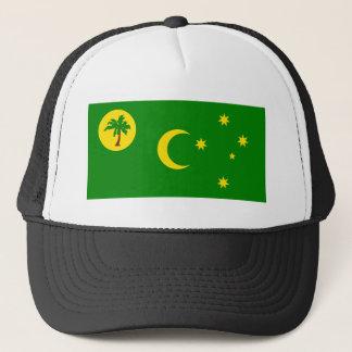 Boné Baixo custo! Bandeira da ilha de Cocos