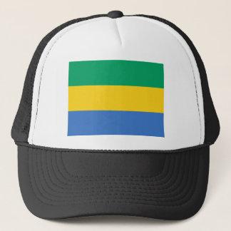 Boné Baixo custo! Bandeira de Gabon
