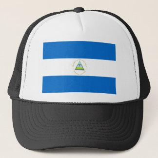 Boné Baixo custo! Bandeira de Nicarágua
