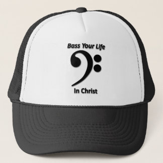 Boné Baixo sua vida no cristo