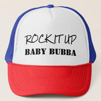 Boné Balance-o acima do chapéu da velha escola de Bubba