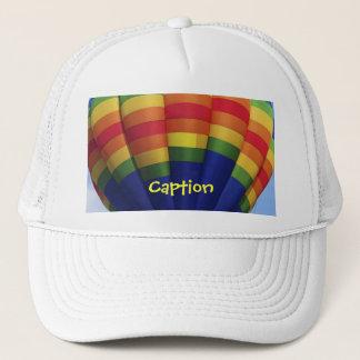 Boné Ballooning do ar quente do arco-íris