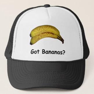 Boné Bananas obtidas