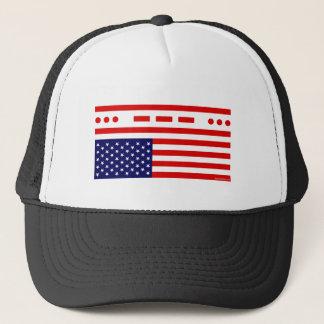 Boné Bandeira americana da aflição do SOS