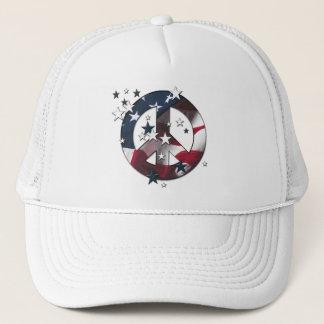 Boné Bandeira americana das estrelas & das listras do
