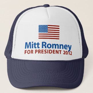 Boné Bandeira americana de Mitt Romney