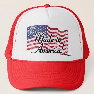 Boné Bandeira americana - feita em América! - afligido