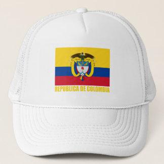 Boné Bandeira & brasão de Colômbia
