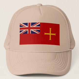 Boné Bandeira civil Guernsey, Reino Unido
