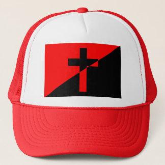 Boné Bandeira cristã da cristandade da anarquia do
