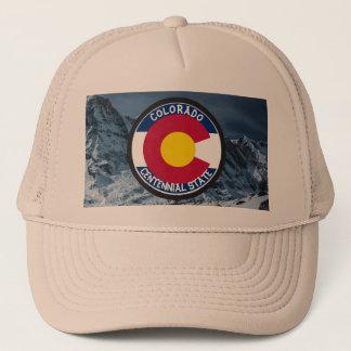 Boné Bandeira da circular de Colorado
