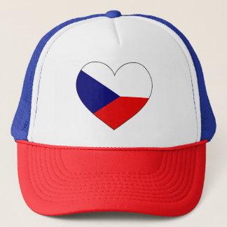 Boné Bandeira da república checa simples