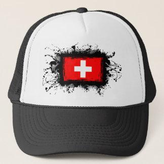 Boné Bandeira da suiça